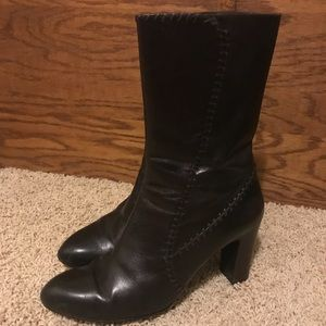 Cole Haan Dark Brown Leather Boots D22987